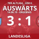ALTLIGA Ü50 II – Landesliga – Ergebnis 14.08.19