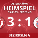 7er ALTLIGA Ü40I – Bezirksliga – 15.08.19
