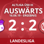 7er ALTLIGA Ü50III – Landesliga – 16.08.19