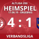 ALTLIGA Ü50 I – Verbandsliga – Ergebnis 17.08.19
