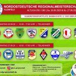 Ü60/Ü50: Die Vorbereitung für die NOFV-Regionalmeisterschaften laufen!